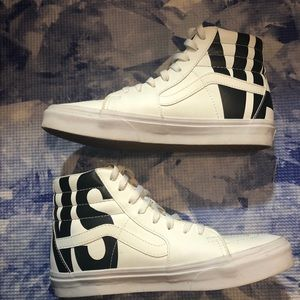 Skate high vans (leather)